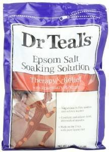 Dr Teal's - Dr Teal's Pure Epsom Salt Soaking Solution Rosemary and Mint 3 lbs(Pack of 3)