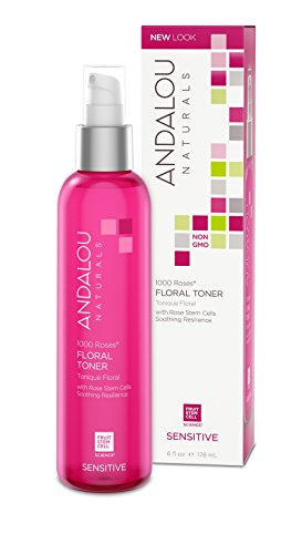 Andalou Naturals - Andalou Naturals 1000 Roses Floral Toner, 6 Ounce, For Sensitive, Dry, Delicate or Easily Irritated Skin, Soothes & Calms