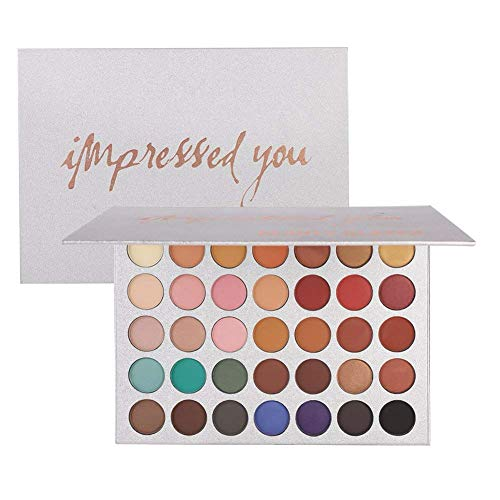 Beauty Glazed - Pigmented Matte and Shimmer 35 Colors Eyeshadow Palette
