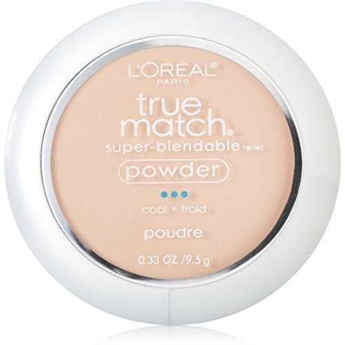 L'Oreal Paris - L'Oreal True Match Powder, Natural Ivory [C2], 0.33 oz (Pack of 3)