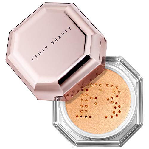 Fenty Beauty Fairy Bomb Shimmer Powder, 24Kray Glimmering Gold