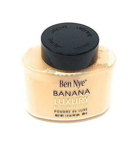 Ben Nye - Ben Nye Luxury Powder Face Makeup, Banana, 1.5 oz.