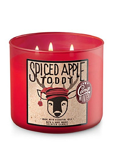 Bath & Body Works - 3-Wick Candle,  Spiced Apple Toddy