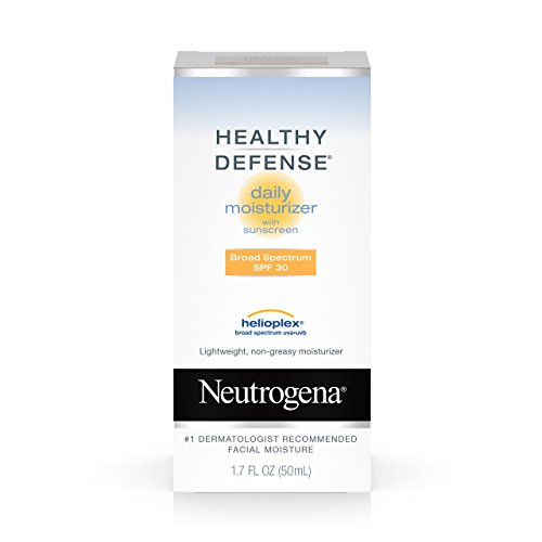 Neutrogena Neutrogena Healthy Defense Daily Moisturizer For Sensitive Skin With Broad Spectrum Spf 30 Sunscreen, 1.7 Fl. Oz.