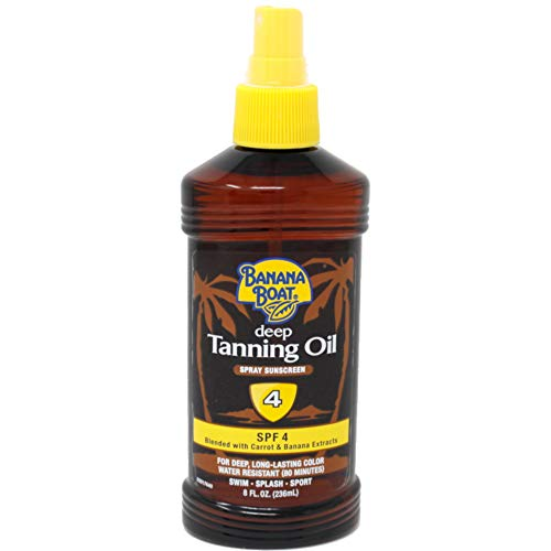 Banana Boat - Banana Boat Deep Tanning Spray SPF 4, 8 Ounces ea (Value Pack of 2)
