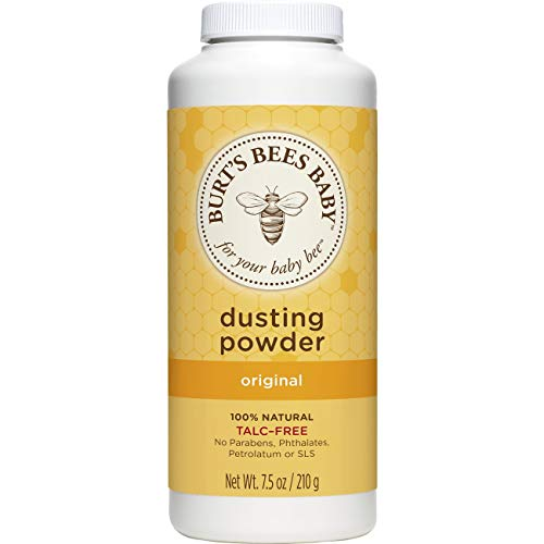 Burt's Bees Baby - Burt's Bees Baby 100% Natural Dusting Powder, Talc-Free Baby Powder - 7.5 Ounce Bottle (Pack of 1)