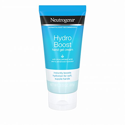 Neutrogena - Neutrogena Hydro Boost Hydrating Hand Gel Cream with Hyaluronic Acid for Soft, Supple Hands, Light and Non-Greasy, 3 oz