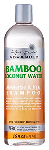 Renpure Originals - Renpure Advanced Bamboo Coconut Water Shampoo 16 0z Bottle