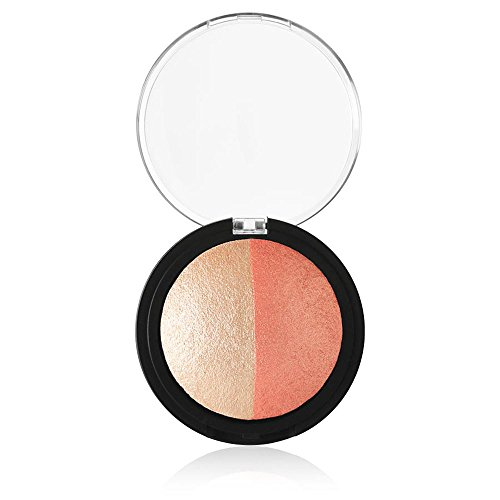 e.l.f. Cosmetics - Elf Cosmetics Baked Highlighter & Blush 83371 Rose Gold, 0.6 Ounce
