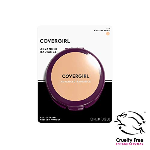 COVERGIRL - COVERGIRL Advanced Radiance Age-Defying Pressed Powder, Natural Beige .39 oz  (11 g) (Packaging may vary)
