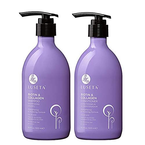 L LUSETA - Biotin & Collagen Shampoo Conditioner Set