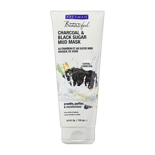 Freeman - Charcoal & Black Sugar Mud Mask