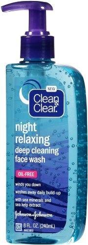 Clean & Clear - Night Relaxing Face Wash