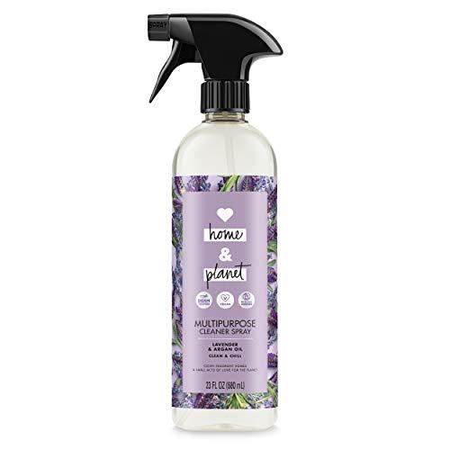 Love Home and Planet - Love Home and Planet Multipurpose Cleaner Spray Lavender & Argan Oil, 23 oz