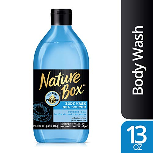 Nature Box - Nature Box Body Wash - for Hydrated Skin, with 100% Cold Pressed Coconut Oil, 13 Ounce