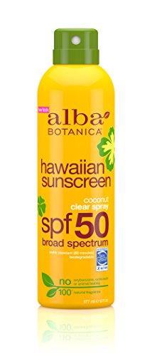 Alba Botanica - Alba Botanica Hawaiian, Coconut Spray Sunscreen SPF 50, 6 Ounce
