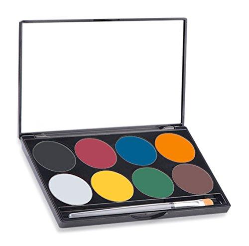 Mehron - Makeup Paradise AQ Face & Body Paint 8 Color Palette