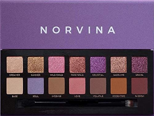 Norvina - Norvina Eyeshadow Palette | Eye Shadow, Makeup Palettes, New Eyeshadow Palette