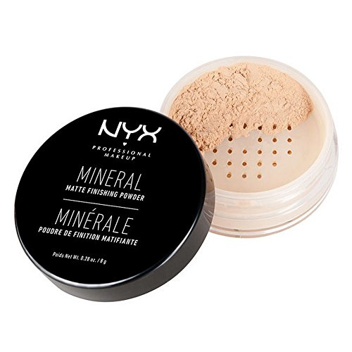 NYX - Mineral Finishing Powder, Light/Medium