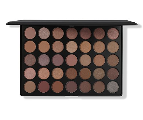 Morphe Pro 35 Color Eyeshadow Makeup Palette - Taupe