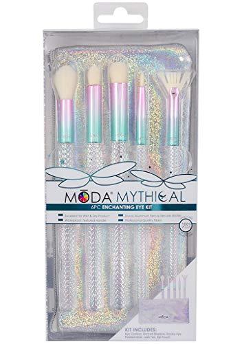ROYAL BRUSH - Royal Brush Moda Mythical Cosmetic 6 Piece Make Up Enchanting Eye Kit Brush Set, 0.29 Count
