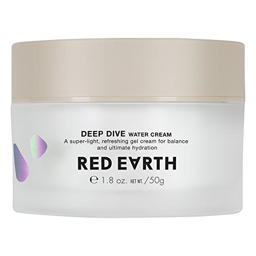 Red Earth - Red Earth DEEP DIVE Water Cream with Ceramide and Collagen for Dry Skin 1.58 fl oz