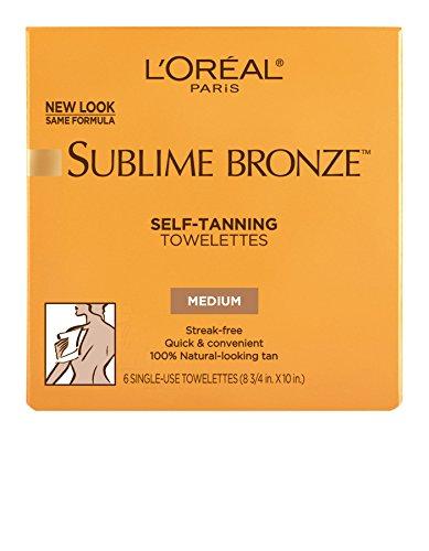 L'Oreal Paris - L'Oréal Paris Sublime Bronze Self-Tanning Towelettes, 6 ct.