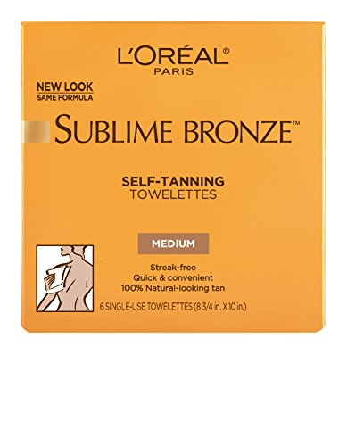L'Oreal Paris - L'Oréal Paris Sublime Bronze Self-Tanning Towelettes, 6 ct.
