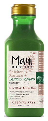 Maui Moisture - Maui Moisture Conditioner Bamboo Fibers 13 Ounce (Thicken) (385ml) (3 Pack)
