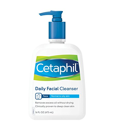 Cetaphil - Daily Facial Cleanser, Normal to Oily Skin