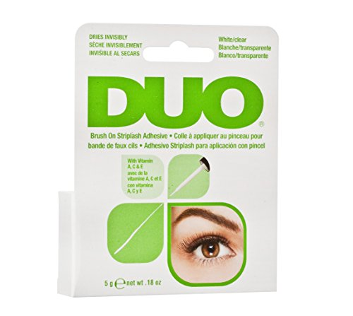 Duo Brush-On Lash Adhesive with Vitamins A, C & E