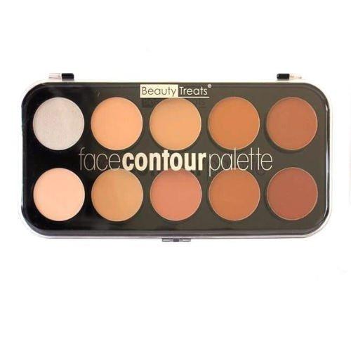 Beauty Treats - BEAUTY TREATS Face Contour Palette - 10 Shades