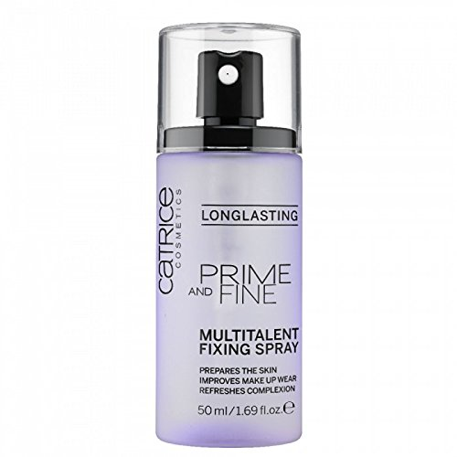 Catrice Catrice | Prime and Fine Multitalent Fixing Spray - Transparent Fast-Drying Fixing Spray | Vegan