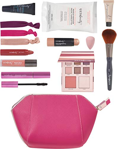 Ulta Beauty - Spring 2019 Makeup Set with Cosmetic Bag, Pink