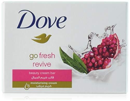 Dove - Dove Beauty Cream Bar Soap, Go Fresh Revive,100 G/3.5 Oz Bars (Pack of 12)