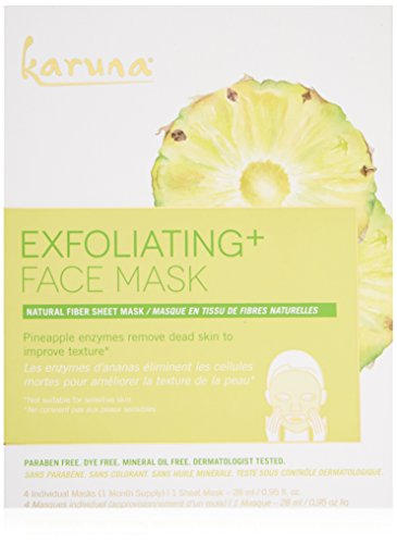 Karuna - Karuna Exfoliating + Face Mask, Pack of 4, 3.8 fl. oz.