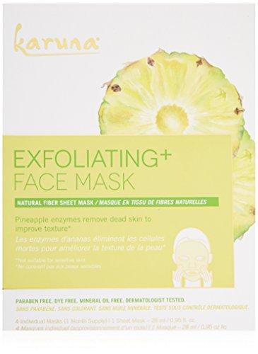 Karuna - Karuna Exfoliating + Face Mask, Pack of 4, 3.8 fl. oz.