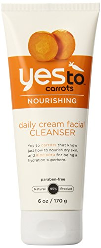 Yes To Carrots - Yes To Carrots Daily Cream Facial Cleanser, 6 Fluid Ounce