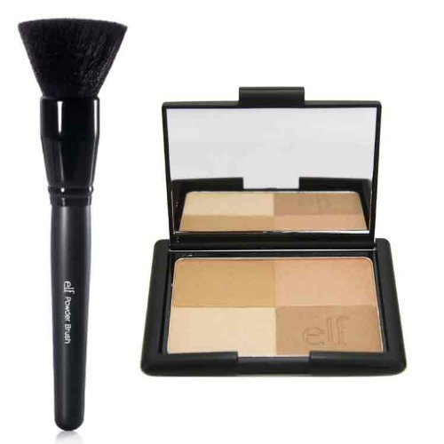 47krate - elf Studio Golden Bronzers and Powder Brush by 47krate