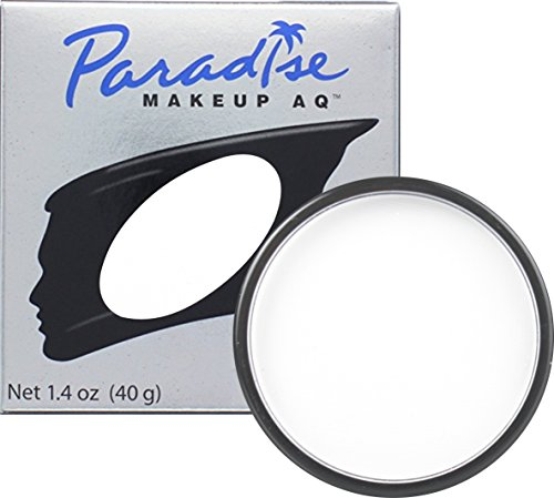 Mehron - Mehron Makeup Paradise Makeup AQ Face & Body Paint (1.4 oz) (White)