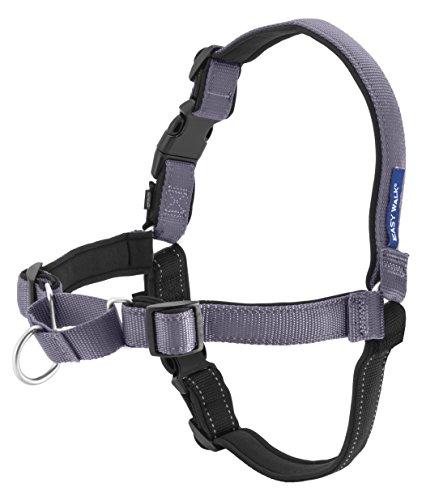 PetSafe - PetSafe Deluxe Easy Walk Harness, Medium, Steel Gray