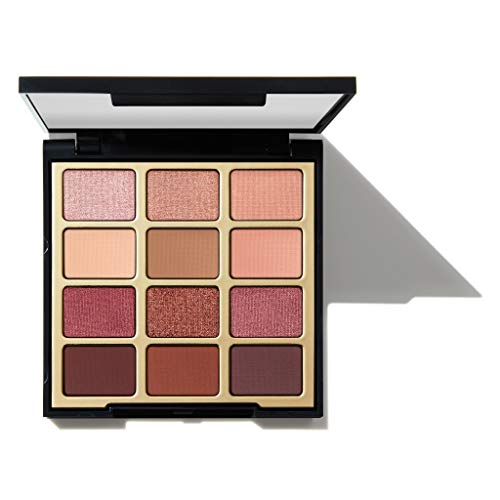 Milani - Milani Pure Passion Eyeshadow Palette (.48 Ounce) 12 Cruelty-Free Warm Matte & Metallic Eyeshadow Colors for Long-Lasting Wear