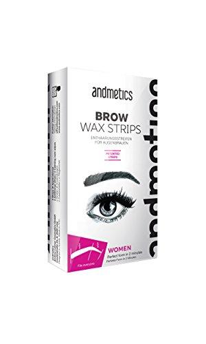 Andmetics - Depilatory Strips, Eyebrows