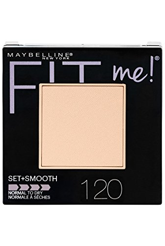 Maybelline Maybelline New York Fit Me Set + Smooth Powder Makeup, Classic Ivory, 0.3 oz.