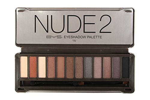 BYS - 12 Color Eyeshadow Palette, Nude 2