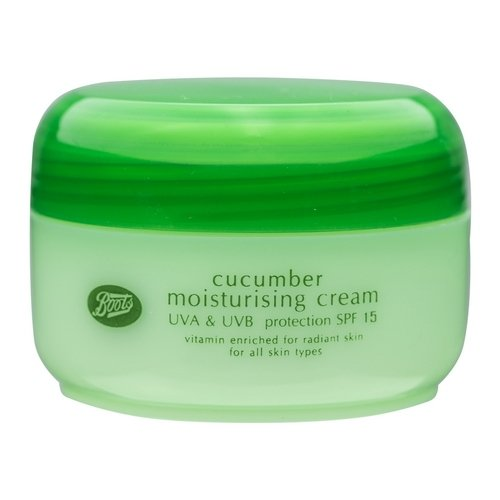 Boots Boots Cucumber Moisturising Cream SPF 15 UVA & UVB Protection 100 ml