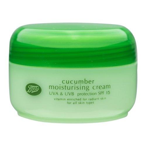 Boots - Boots Cucumber Moisturising Cream SPF 15 UVA & UVB Protection 100 ml