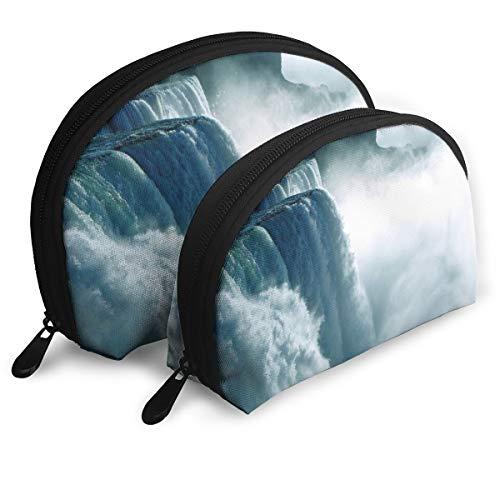 Bxsbksnb - Bxsbksnb Niagara Waterfall Canada Handy Cosmetic Pouch Clutch Makeup Bag.