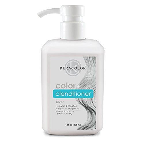 KERACOLOR - Keracolor Color + Clenditioner Silver 12oz