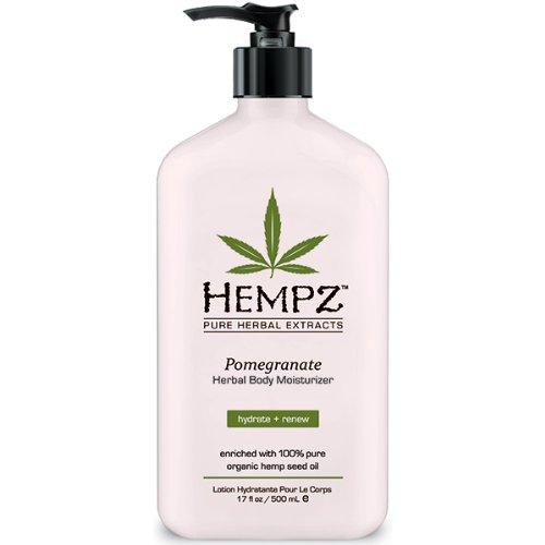 Hempz - Hempz Herbal Body Moisturizer, Light Pink, Pomegranate, 17 Fluid Ounce